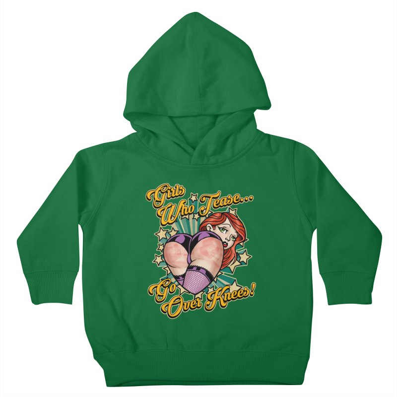 TEASE Kids Toddler Pullover Hoody by Inkdwell's Artist Shop