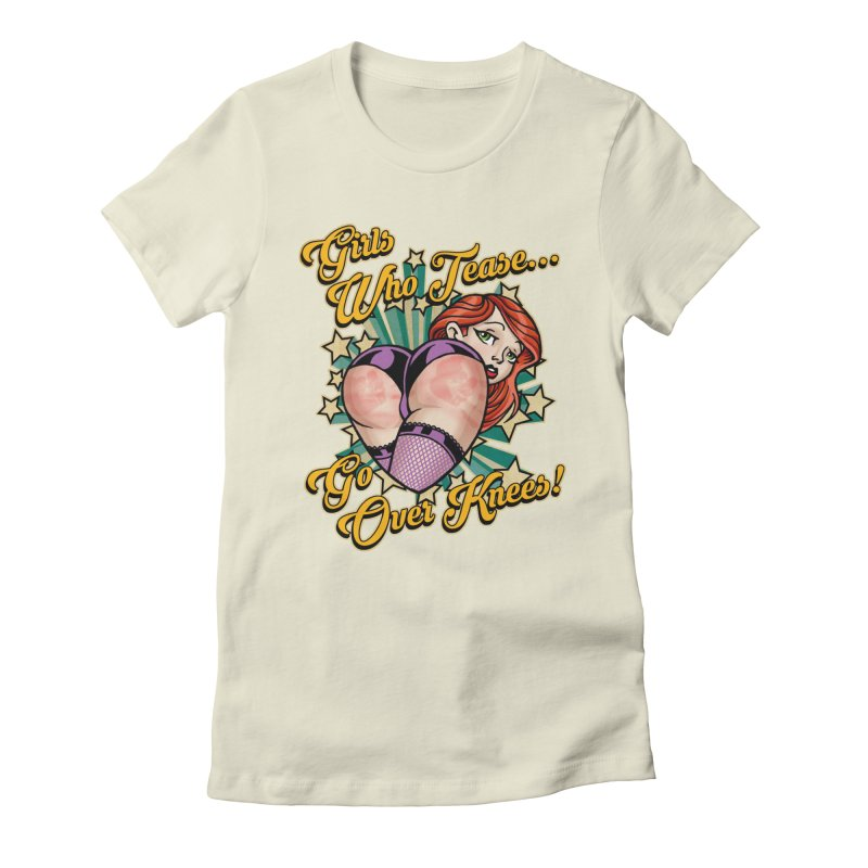 TEASE Women's T-Shirt by Inkdwell's Artist Shop