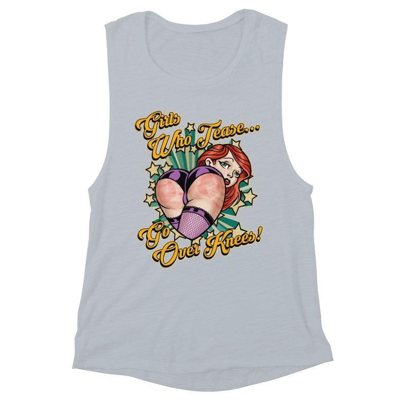 TEASE Women's Muscle Tank by Inkdwell's Artist Shop
