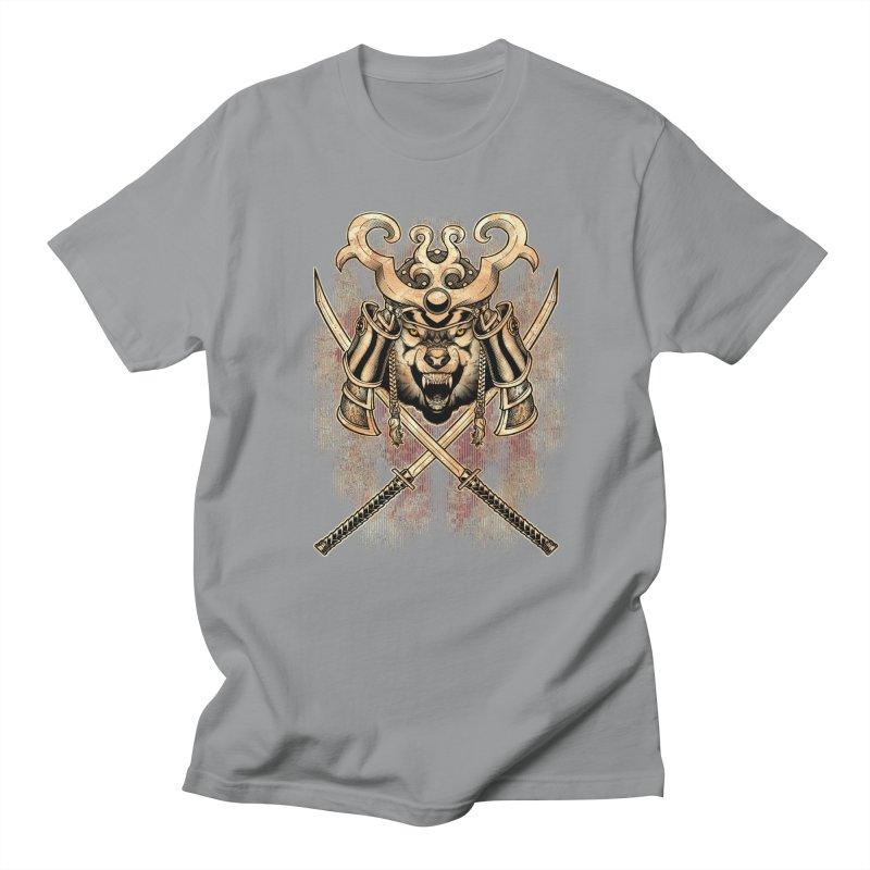 SAMURAI WOLF Women's Regular Unisex T-Shirt by Inkdwell's Artist Shop