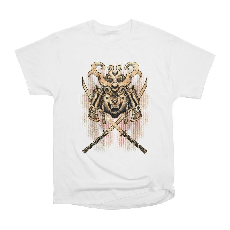 SAMURAI WOLF Men's Classic T-Shirt by Inkdwell's Artist Shop