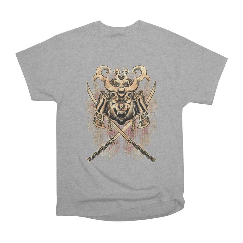 SAMURAI WOLF Women's Classic Unisex T-Shirt by Inkdwell's Artist Shop