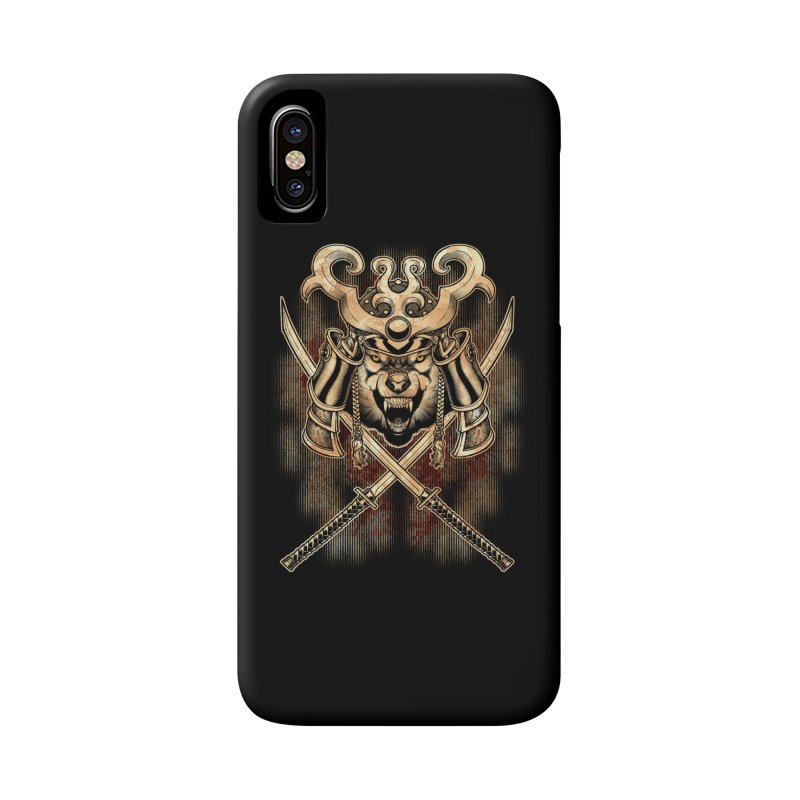 SAMURAI WOLF Accessories Phone Case by Inkdwell's Artist Shop
