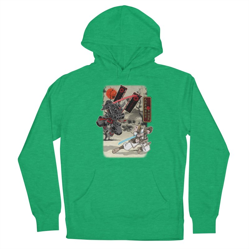 SAMURAI WARS Men's Pullover Hoody by Inkdwell's Artist Shop