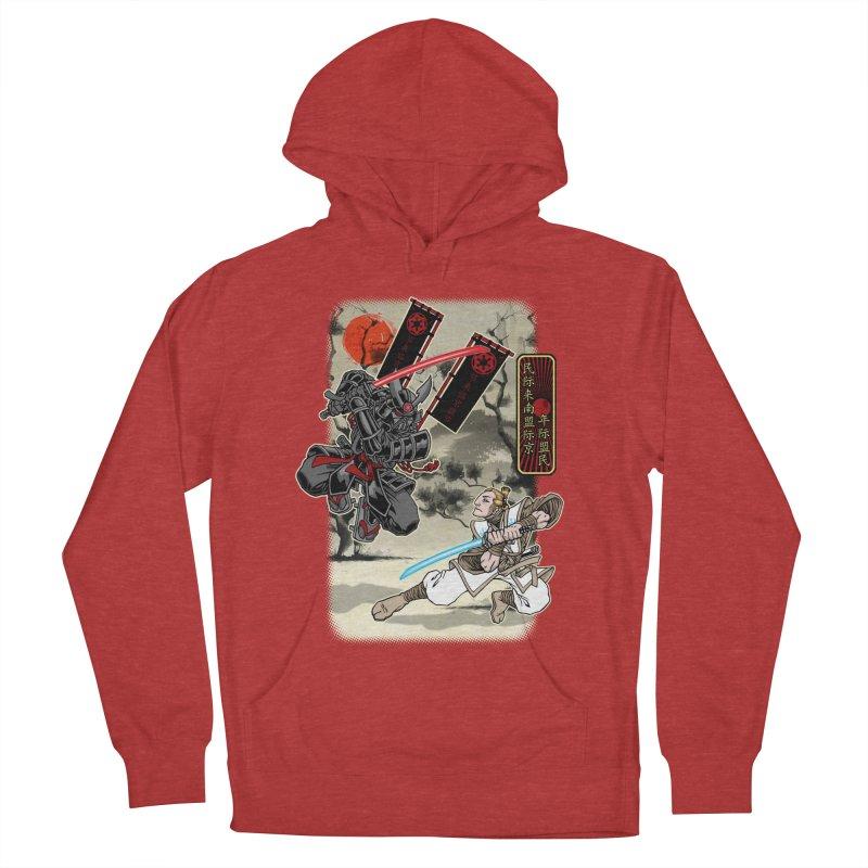 SAMURAI WARS Women's Pullover Hoody by Inkdwell's Artist Shop