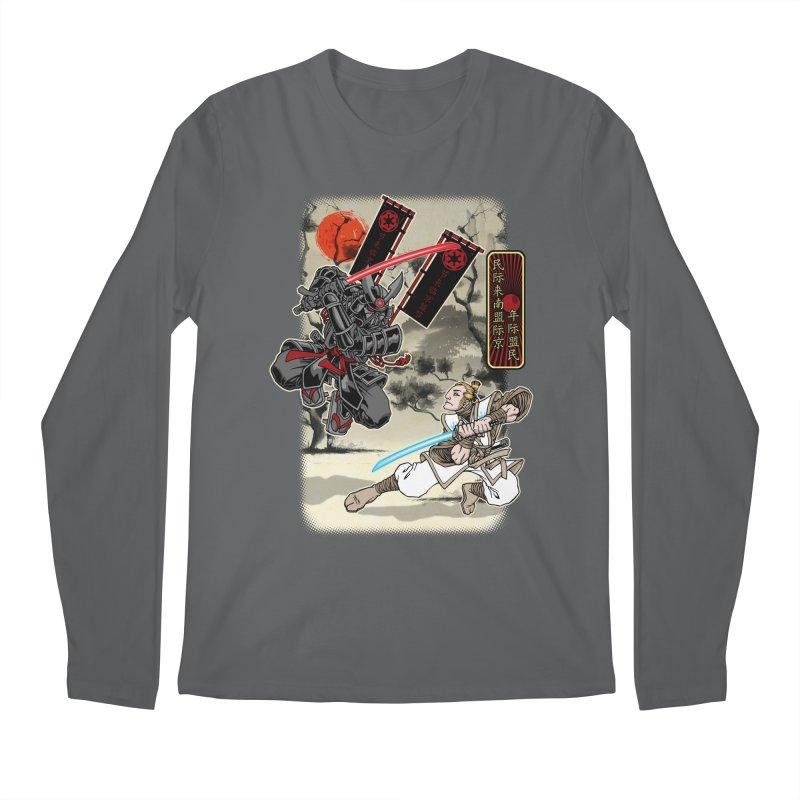 SAMURAI WARS Men's Longsleeve T-Shirt by Inkdwell's Artist Shop