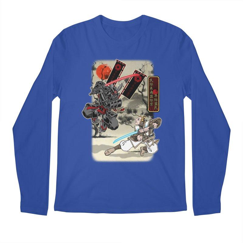 SAMURAI WARS Men's Regular Longsleeve T-Shirt by Inkdwell's Artist Shop
