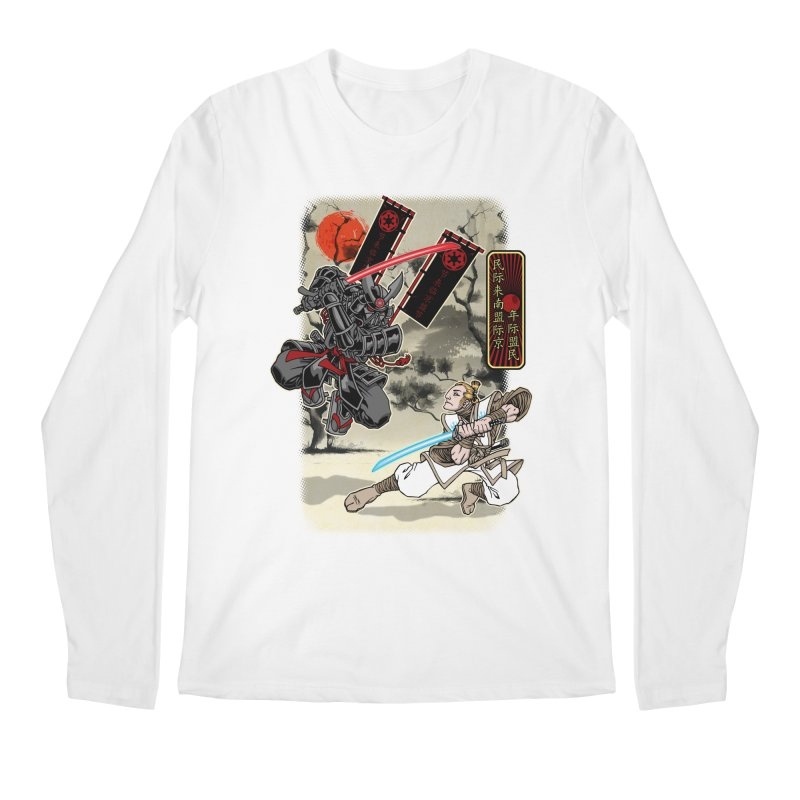 SAMURAI WARS Men's Longsleeve T-Shirt by Inkdwell's Artist Shop