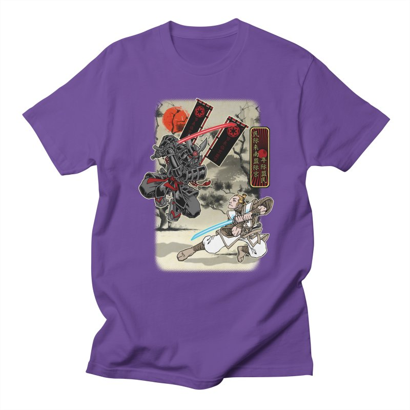 SAMURAI WARS Men's T-Shirt by Inkdwell's Artist Shop