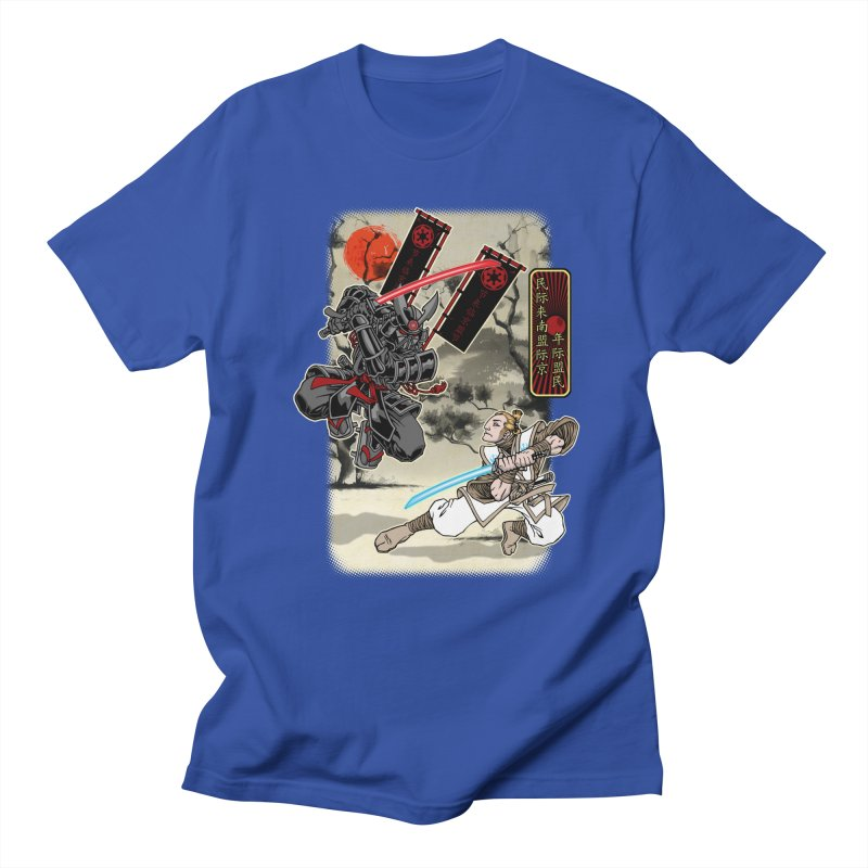 SAMURAI WARS Men's Regular T-Shirt by Inkdwell's Artist Shop