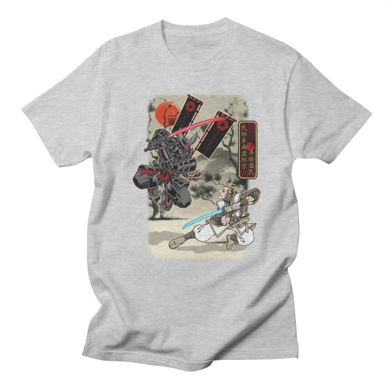 SAMURAI WARS Women's Regular Unisex T-Shirt by Inkdwell's Artist Shop
