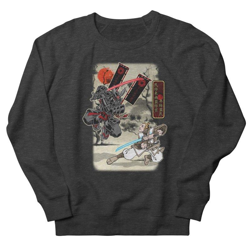 SAMURAI WARS Women's French Terry Sweatshirt by Inkdwell's Artist Shop