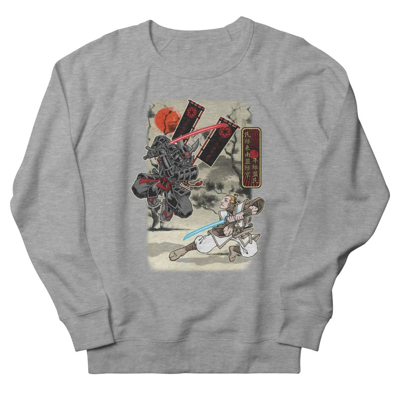 SAMURAI WARS Women's French Terry Sweatshirt by Inkdwell's Artist Shop