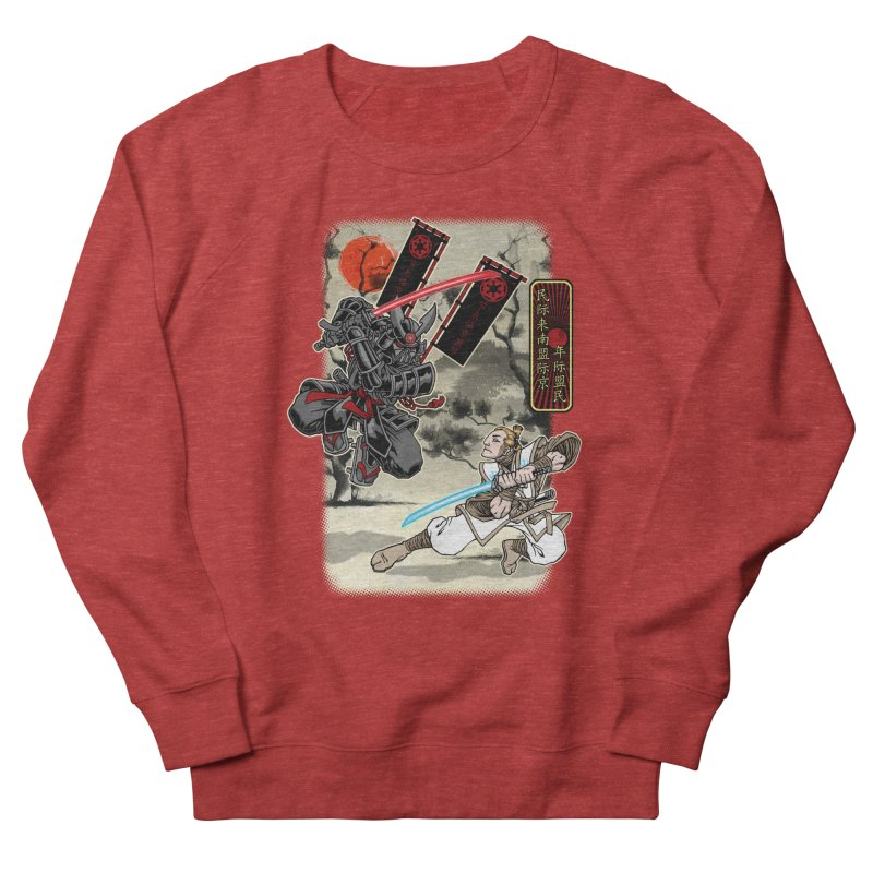 SAMURAI WARS Men's Sweatshirt by Inkdwell's Artist Shop
