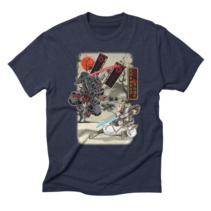 SAMURAI WARS Men's Triblend T-Shirt by Inkdwell's Artist Shop