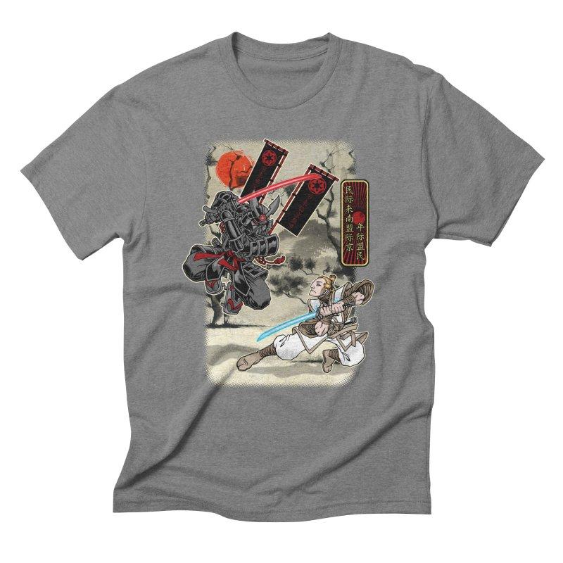 SAMURAI WARS Men's Triblend T-Shirt by Inkdwell's Artist Shop