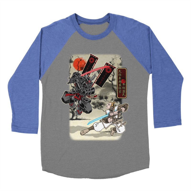 SAMURAI WARS Women's Baseball Triblend Longsleeve T-Shirt by Inkdwell's Artist Shop