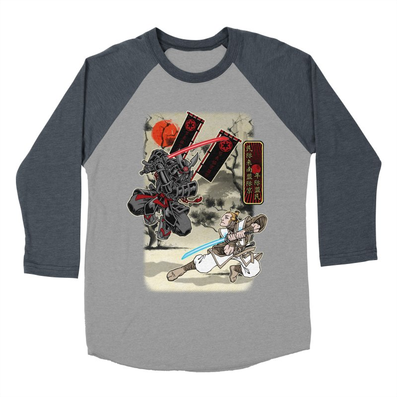 SAMURAI WARS Women's Baseball Triblend Longsleeve T-Shirt by Inkdwell's Artist Shop