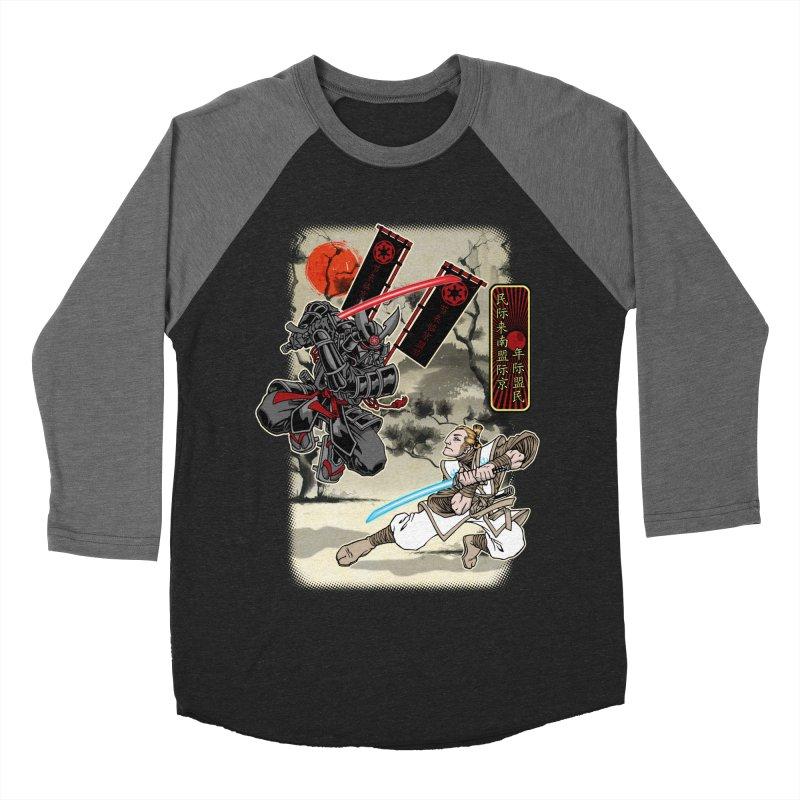SAMURAI WARS Men's Baseball Triblend T-Shirt by Inkdwell's Artist Shop