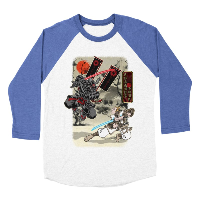 SAMURAI WARS Men's Baseball Triblend T-Shirt by Inkdwell's Artist Shop