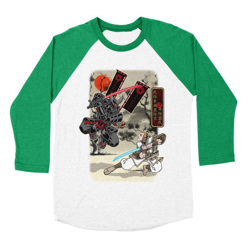 SAMURAI WARS Men's Baseball Triblend Longsleeve T-Shirt by Inkdwell's Artist Shop