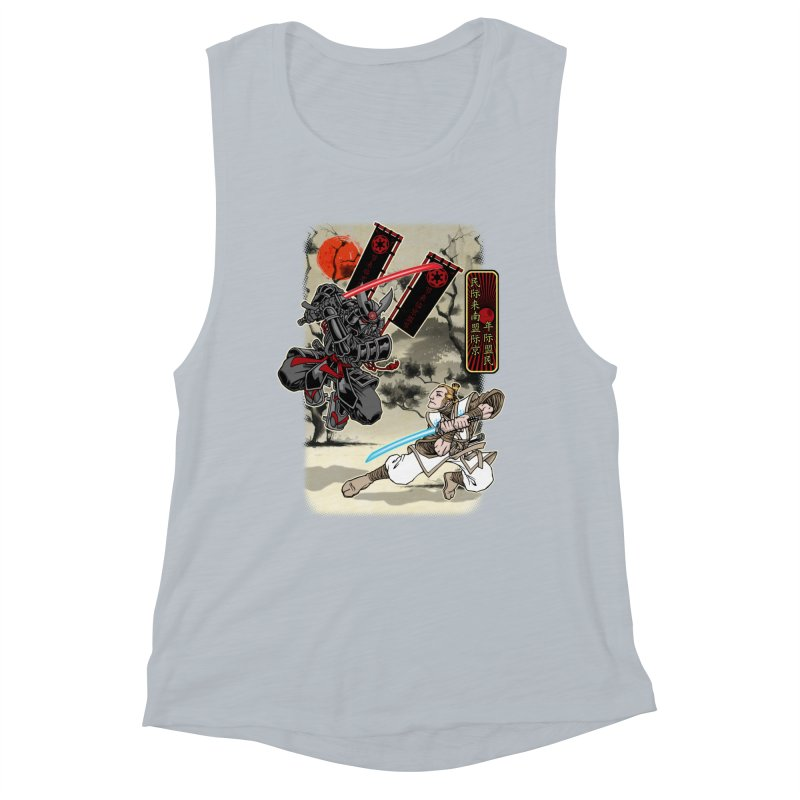 SAMURAI WARS Women's Tank by Inkdwell's Artist Shop