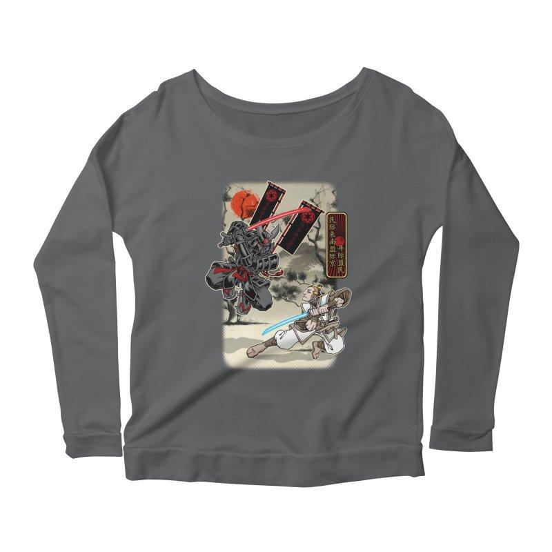 SAMURAI WARS Women's Longsleeve T-Shirt by Inkdwell's Artist Shop