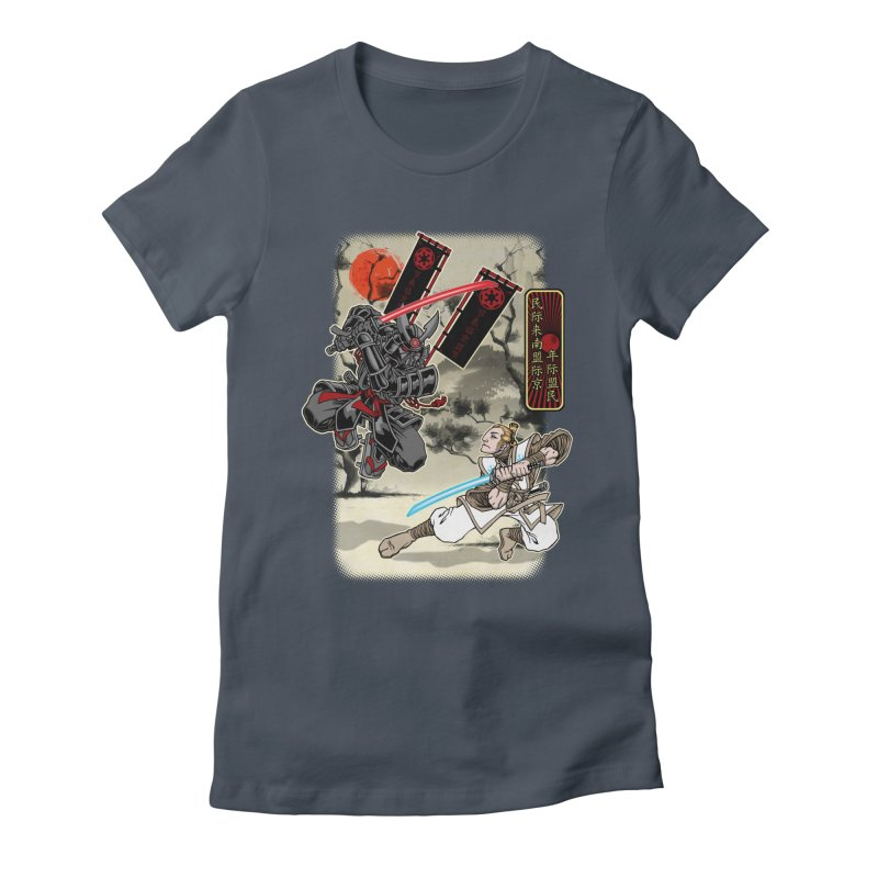 SAMURAI WARS Women's T-Shirt by Inkdwell's Artist Shop