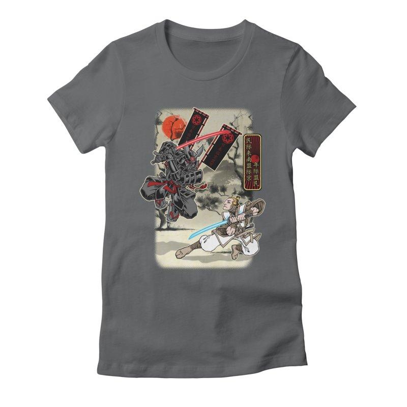SAMURAI WARS Women's T-Shirt by Inkdwell's Artist Shop