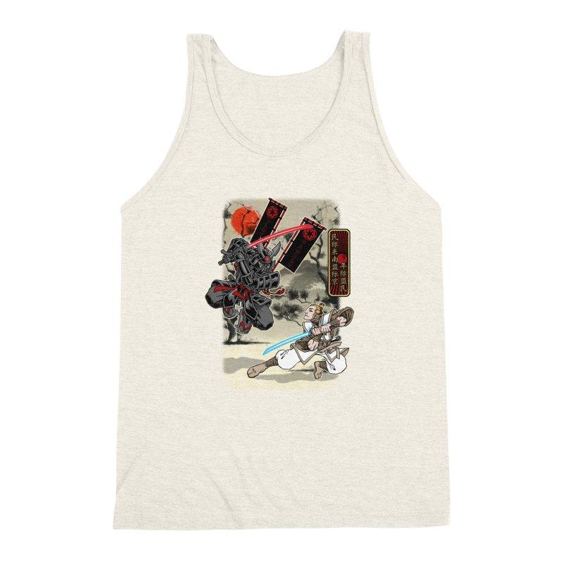 SAMURAI WARS Men's Triblend Tank by Inkdwell's Artist Shop