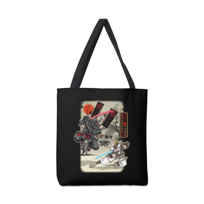 SAMURAI WARS Accessories Tote Bag Bag by Inkdwell's Artist Shop