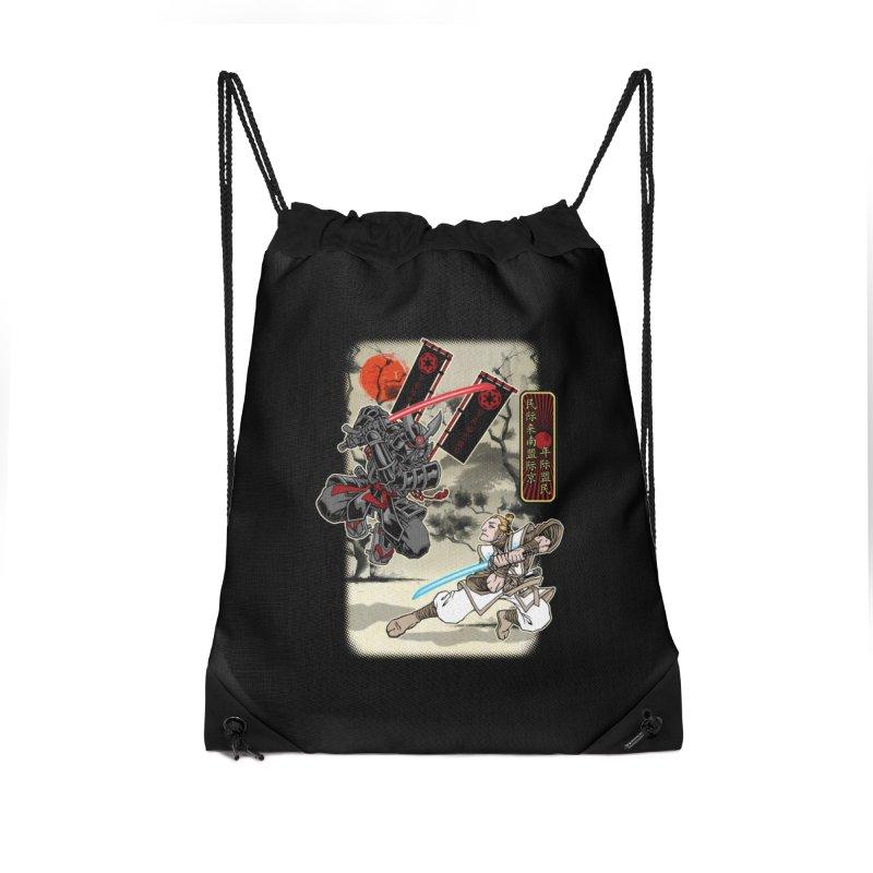 SAMURAI WARS Accessories Drawstring Bag Bag by Inkdwell's Artist Shop