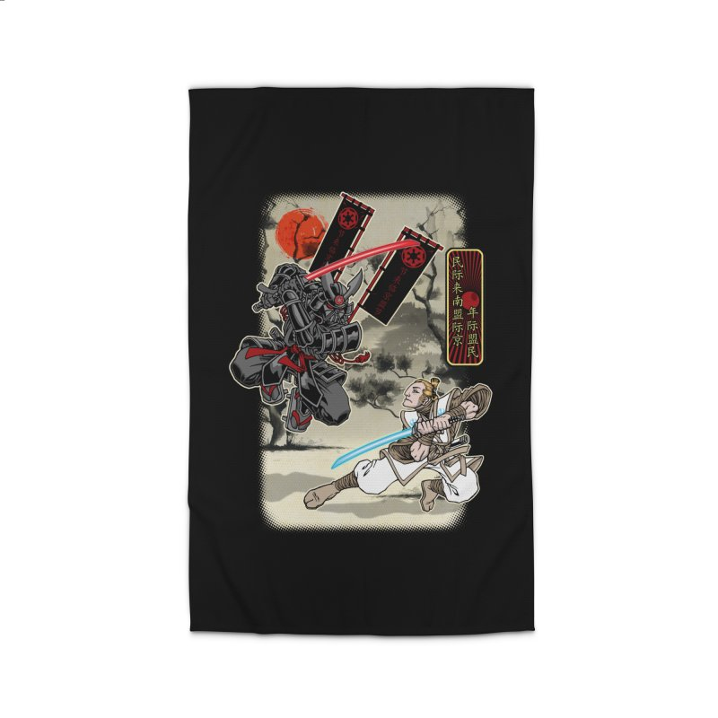 SAMURAI WARS Home Rug by Inkdwell's Artist Shop
