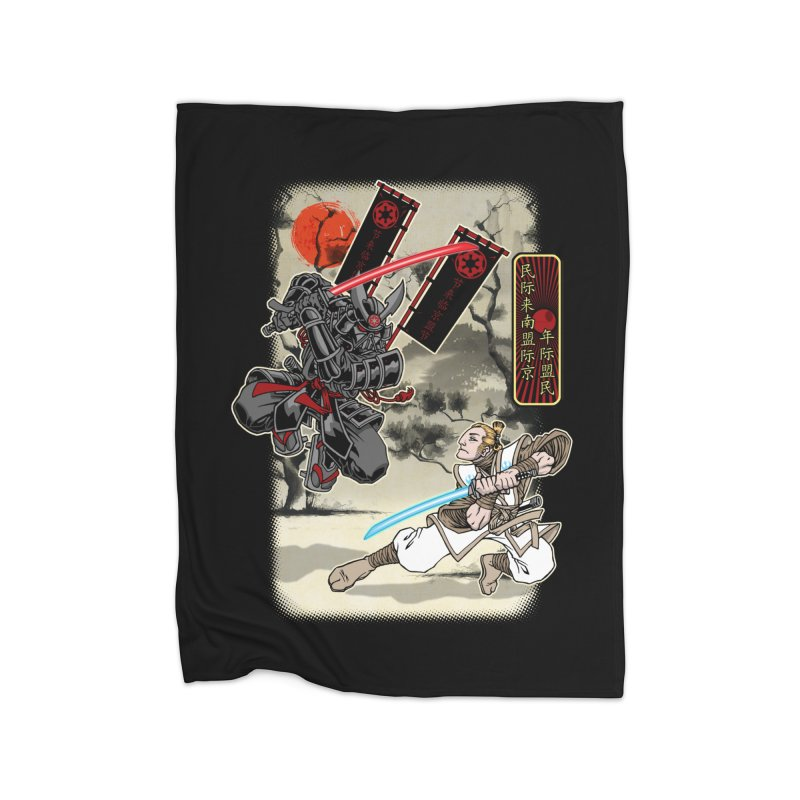 SAMURAI WARS Home Blanket by Inkdwell's Artist Shop