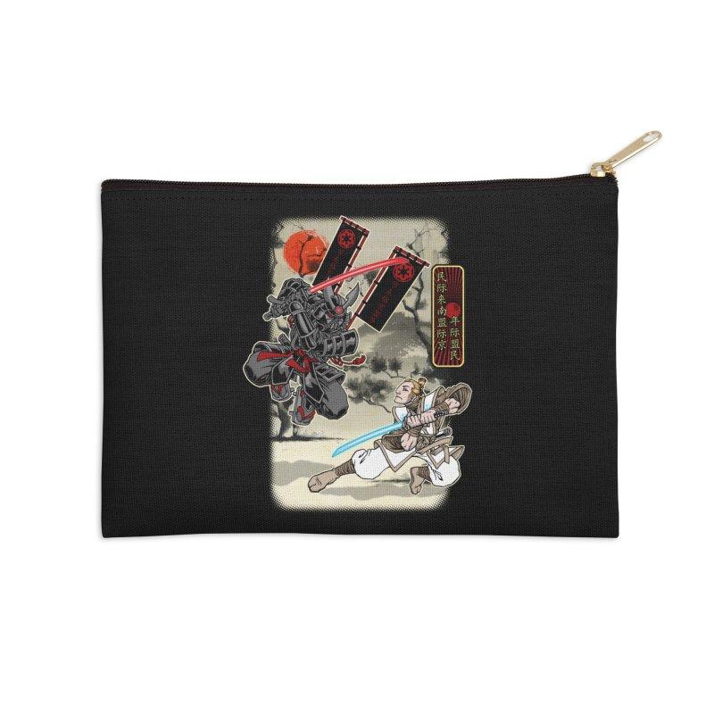 SAMURAI WARS Accessories Zip Pouch by Inkdwell's Artist Shop