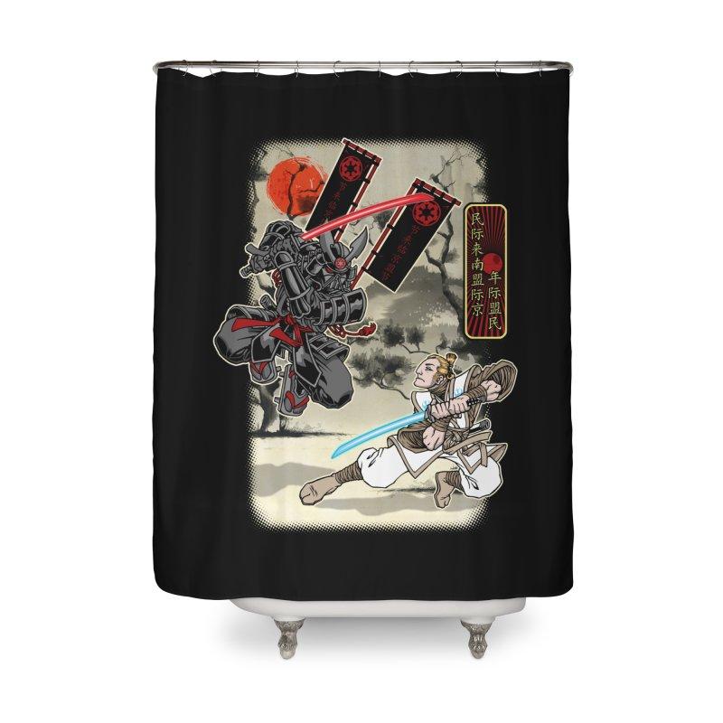 SAMURAI WARS Home Shower Curtain by Inkdwell's Artist Shop
