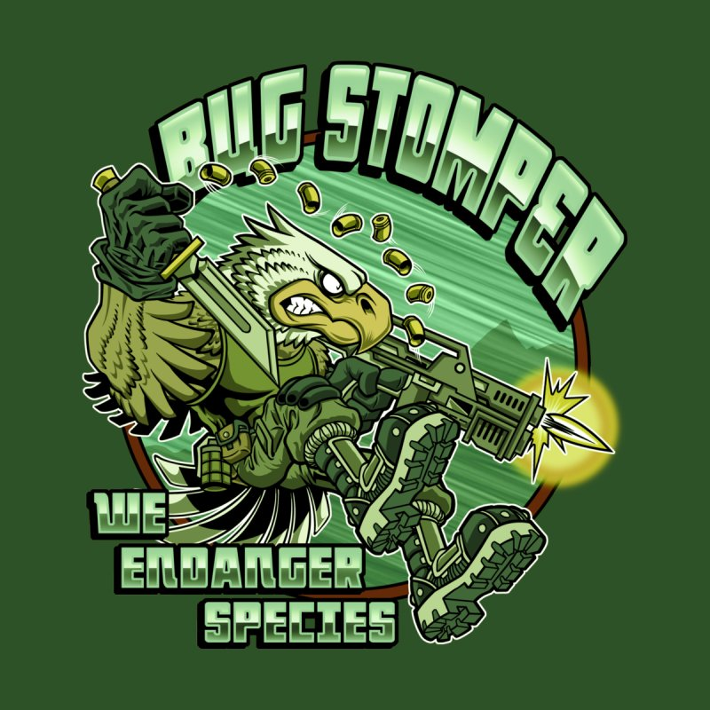 BUG STOMPER! Women's Longsleeve T-Shirt by Inkdwell's Artist Shop