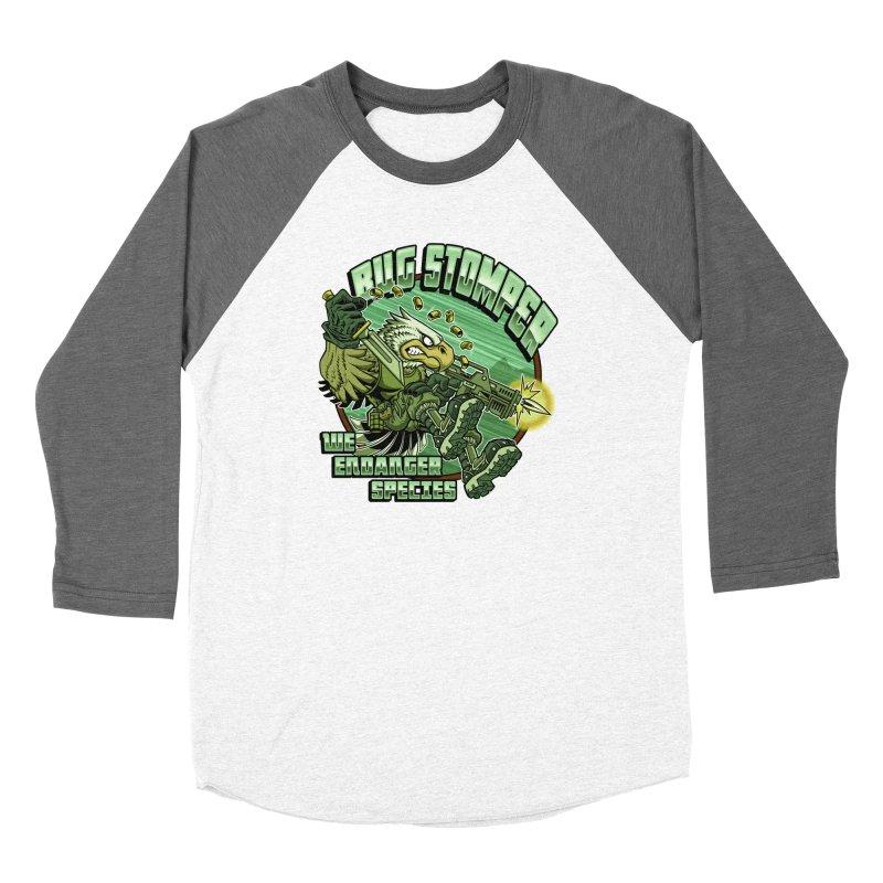 BUG STOMPER! Women's Longsleeve T-Shirt by Inkdwell's Artist Shop