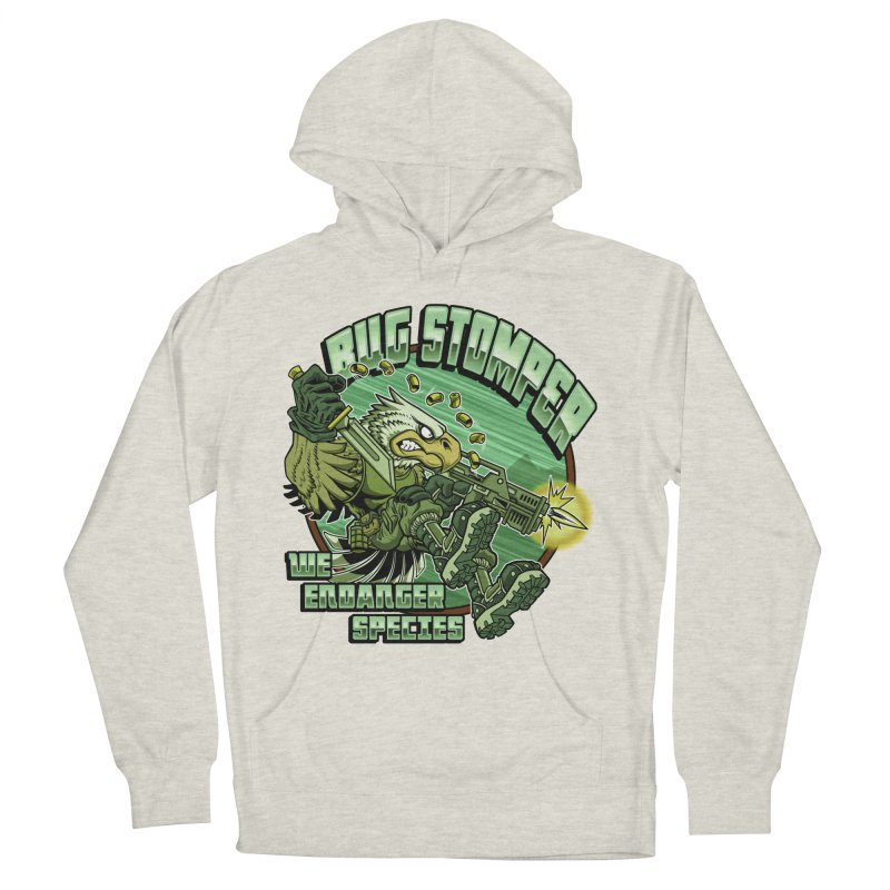 BUG STOMPER! Men's Pullover Hoody by Inkdwell's Artist Shop