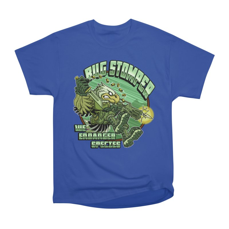 BUG STOMPER! Women's Classic Unisex T-Shirt by Inkdwell's Artist Shop