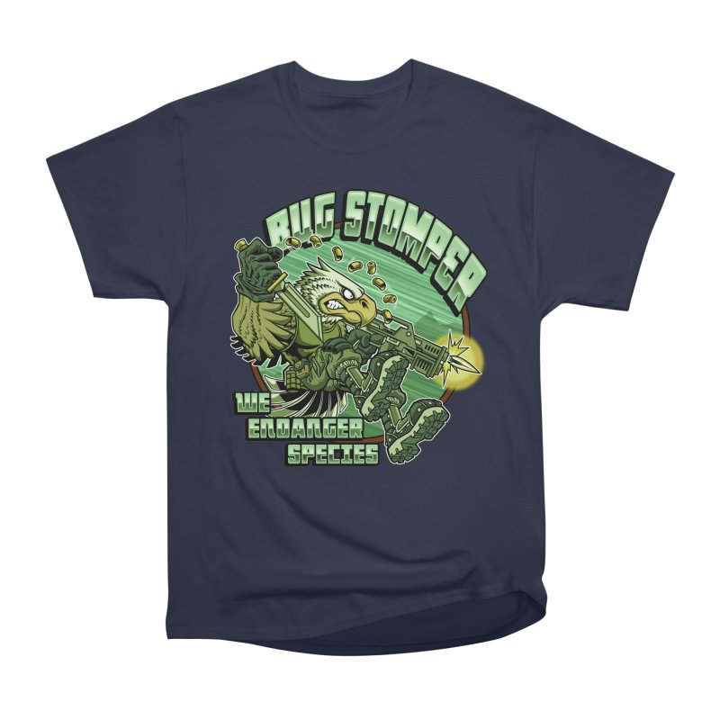 BUG STOMPER! Men's Heavyweight T-Shirt by Inkdwell's Artist Shop