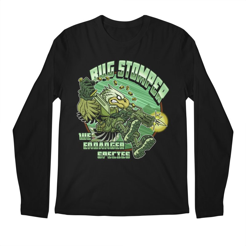 BUG STOMPER! Men's Regular Longsleeve T-Shirt by Inkdwell's Artist Shop