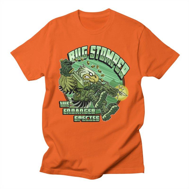 BUG STOMPER! Men's T-Shirt by Inkdwell's Artist Shop