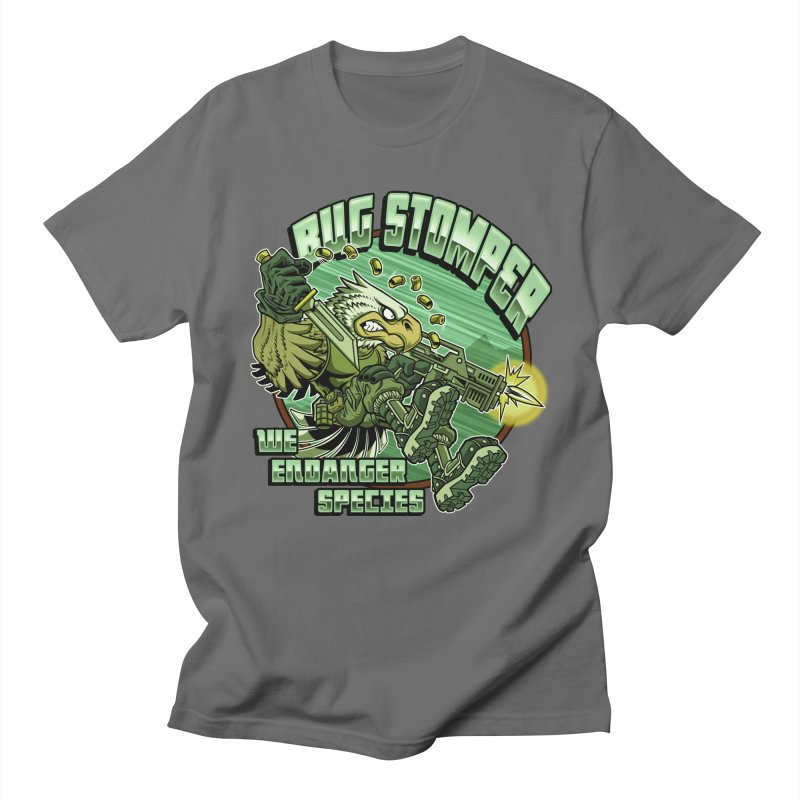 BUG STOMPER! Men's Regular T-Shirt by Inkdwell's Artist Shop