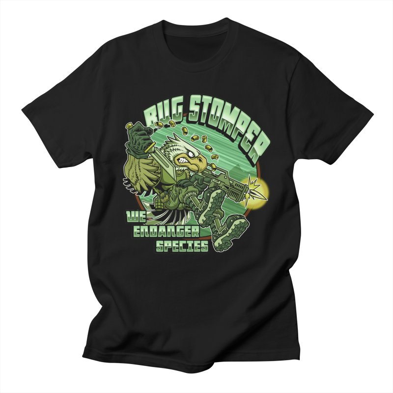BUG STOMPER! Men's T-Shirt by Inkdwell's Artist Shop