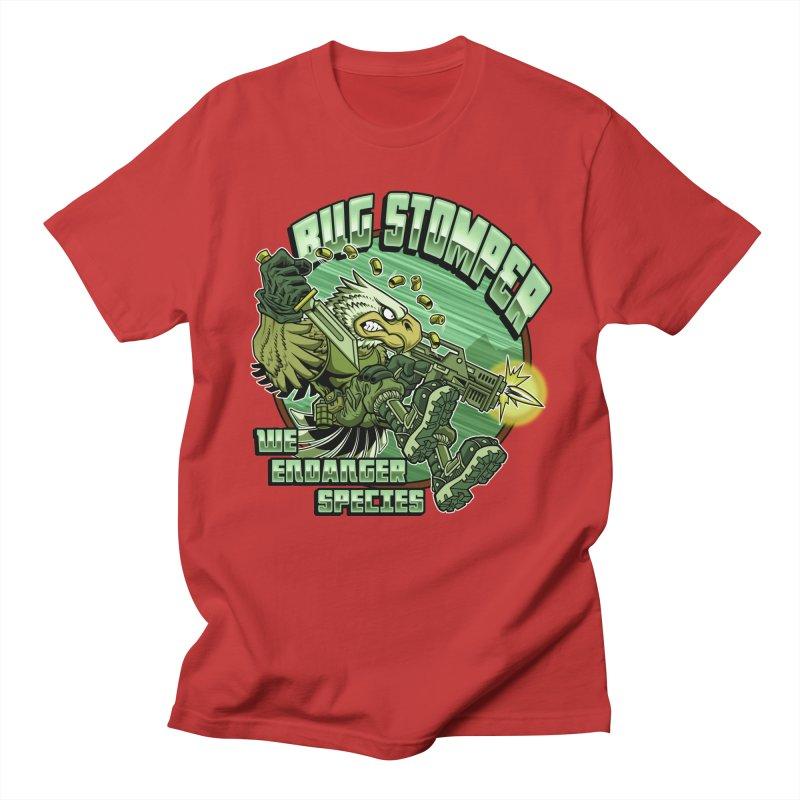 BUG STOMPER! Men's Regular T-Shirt by Inkdwell's Artist Shop