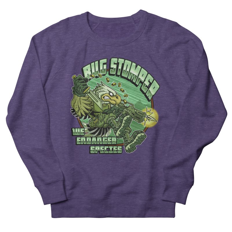 BUG STOMPER! Women's Sweatshirt by Inkdwell's Artist Shop