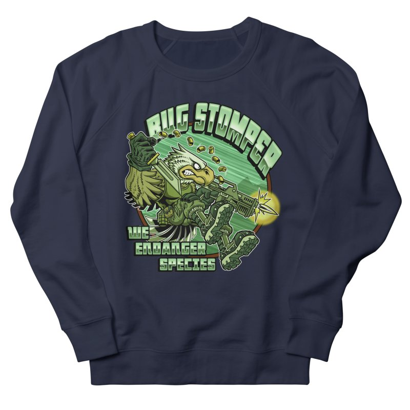 BUG STOMPER! Men's French Terry Sweatshirt by Inkdwell's Artist Shop
