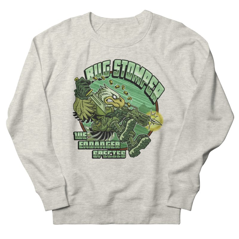 BUG STOMPER! Men's Sweatshirt by Inkdwell's Artist Shop