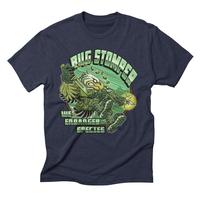 BUG STOMPER! Men's Triblend T-Shirt by Inkdwell's Artist Shop